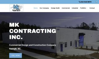 Commercial Contractor Website