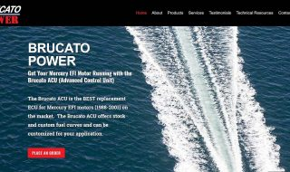 Boating Parts Service Website