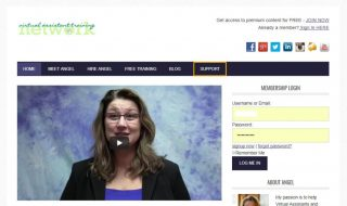 Virtual Assistant Membership Website