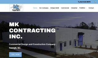 Commercial Contractor Website