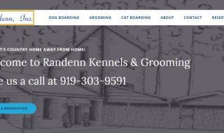 Dog Kennel Website
