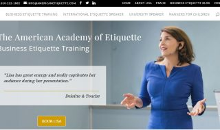 Business Etiquette Website