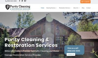 Commercial Cleaning Website