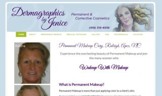 Permanent Makeup Website