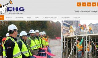 Environmental Demolition Services Website