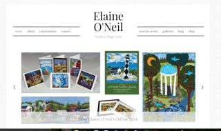 Artist Online Shop Website