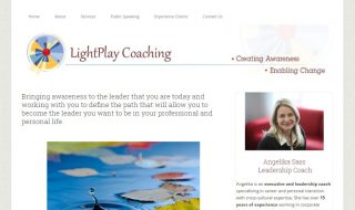 Leadership Coach Website