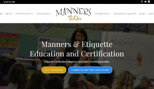 Manners for Children Website