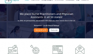 Nurse Practitioner Recruiter Website