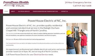 Electrical Service Website
