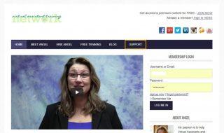 Virtual Assistant Membership Website