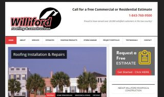 Roofing Website
