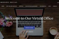 Social Media Manager Website
