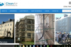 Abatement and Remediation Contractor Website