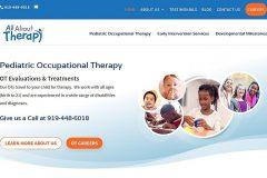 Occupational Therapist Website