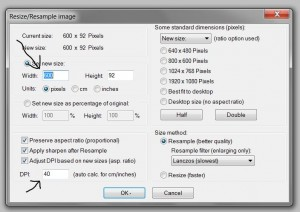 How to Adjust Image size
